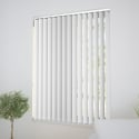 Lucca White Vertical Blind