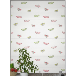 Chintz butterfly Roman Blind