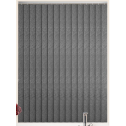 Toro Pewter Vertical Blind