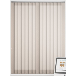 Calla Ivory Vertical Blind