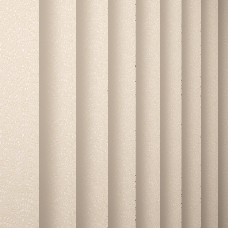 Davina Calico Vertical Blind - Blinds By Post