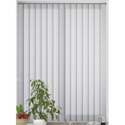 Dalia White Vertical Blind