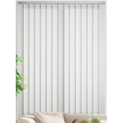Cleo White Vertical Blind