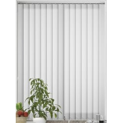Lana White Vertical Blind