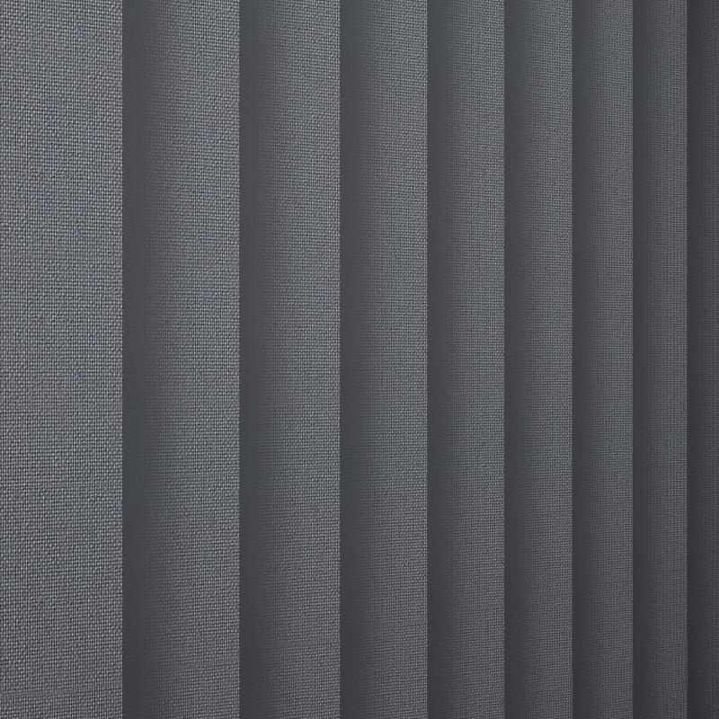 Unicolour Charcoal Vertical Blind
