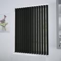 Unicolour Black Vertical Blind