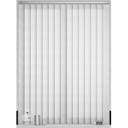 Senna White Vertical Blind
