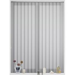 Unicolour Dove Vertical Blind