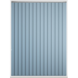 Bermuda Blackout Air Blue Vertical Blind