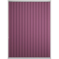 Bermuda Blackout Amaranth Vertical Blind