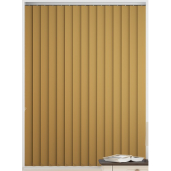Bermuda Blackout Banana Vertical Blind
