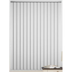 Bermuda Blackout Brilliant White Vertical Blind