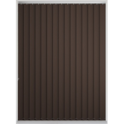 Bermuda Blackout Chocolate Vertical Blind
