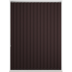 Bermuda Blackout Coffee Bean Vertical Blind