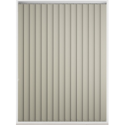 Bermuda Blackout Cream Vertical Blind