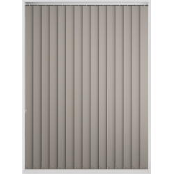 Bermuda Blackout Croissant Vertical Blind