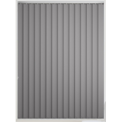 Bermuda Blackout Grey Vertical Blind