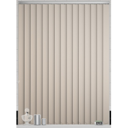 Bermuda Blackout Peach Vertical Blind