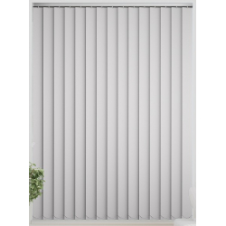 Bermuda Blackout Snow White Vertical Blind