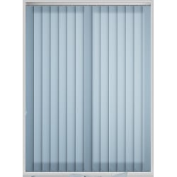 Bermuda Plain Air Blue Vertical Blind