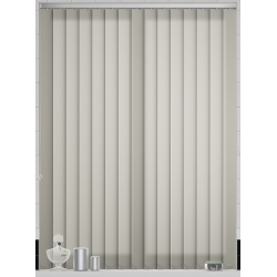 Bermuda Plain Beige Vertical Blind