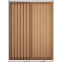 Bermuda Plain Bran Vertical Blind