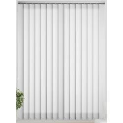 Bermuda Plain Brilliant White Vertical Blind