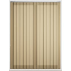 Bermuda Plain Buff Vertical Blind