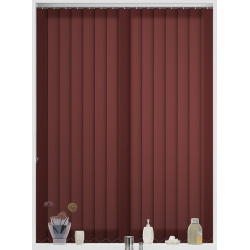 Bermuda Plain Clay Vertical Blind