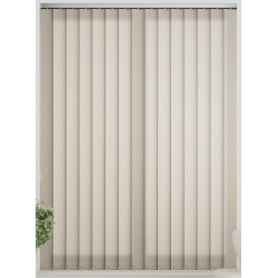 Bermuda Plain Cream Vertical Blind