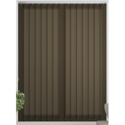 Bermuda Plain Forest Night Vertical Blind
