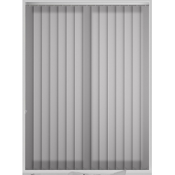 Bermuda Plain Grey Vertical Blind
