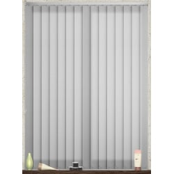 Bubble White Vertical Blind