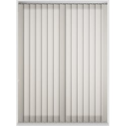 Candy Stripe Cream Vertical Blind