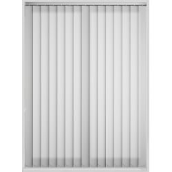Candy Stripe White Vertical Blind