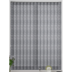 Diamond Silver Vertical Blind