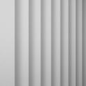 Granite Plain White Vertical Blind