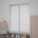 Lines White Vertical Blind