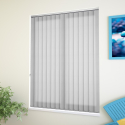 Madrid White Vertical Blind