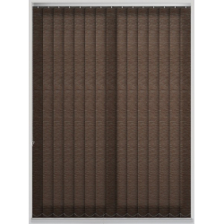 Morocco Cocoa Vertical Blind