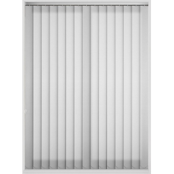 Ocean Pearl Fr White/Snow Vertical Blind