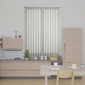 Pinata Cream Vertical Blind