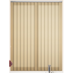 Satin Pure Apricot Vertical Blind