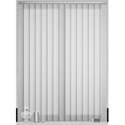 Sole White Vertical Blind