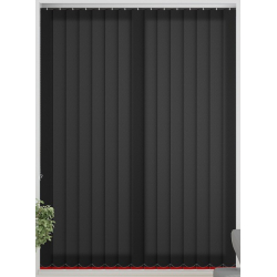 Tern Black Vertical Blind