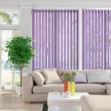Unicolour Purple Vertical Blind