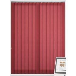 Splash Poppy Vertical Blind
