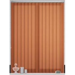 Splash Cinnabar Vertical Blind