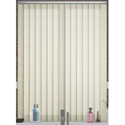 Senna Cream Vertical Blind