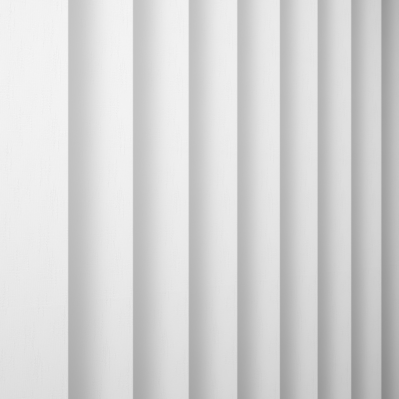 Java White Vertical Blind